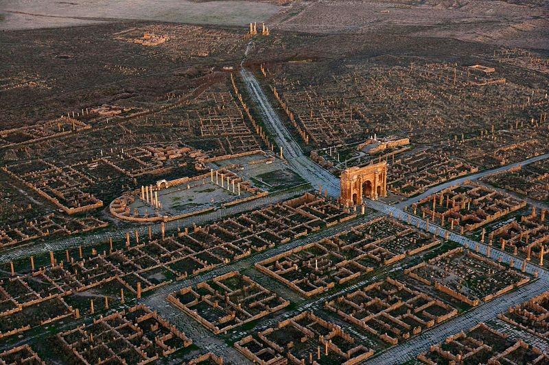 Timgad An Ancient Roman City With a Very Modern Grid Design